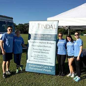 Tindal Prosthodontics at community event